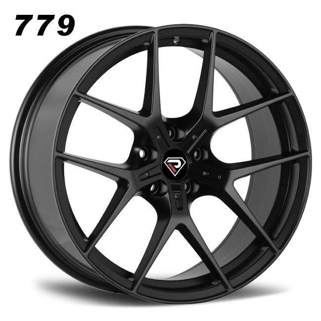 779 BMW M2 18inch 19inch 20inch 5 Double spokes Satin Black Alloy wheels
