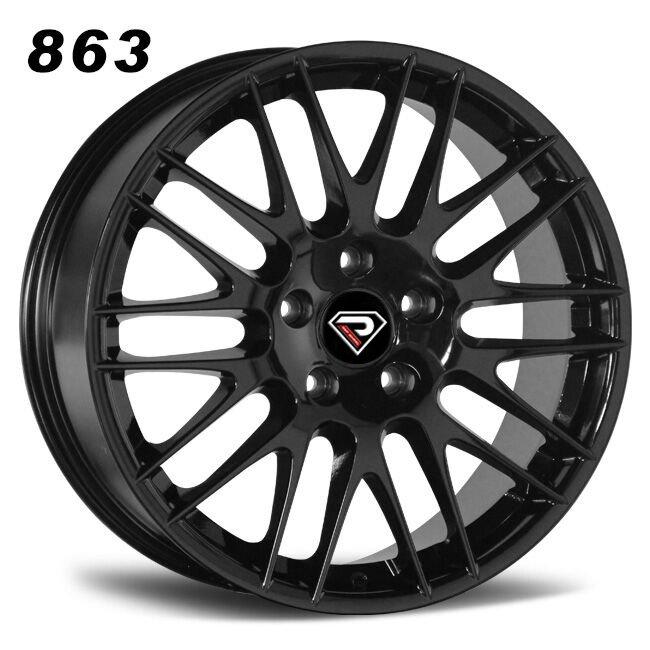 863 PORSCHE CAYENNE Mluti-spokes Black Alloy wheels