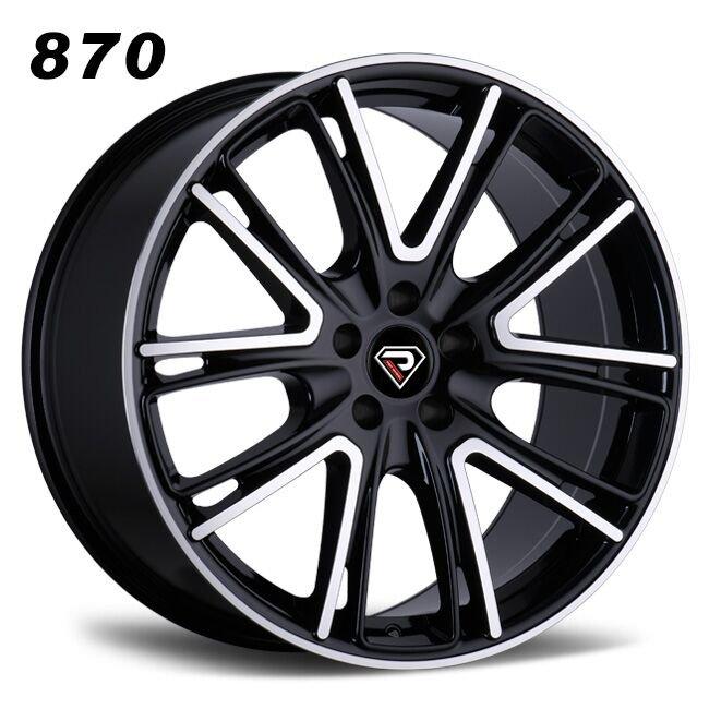 870 PORSCHE MACAN 5 V-Shape-Spokes BMF Alloy Wheels