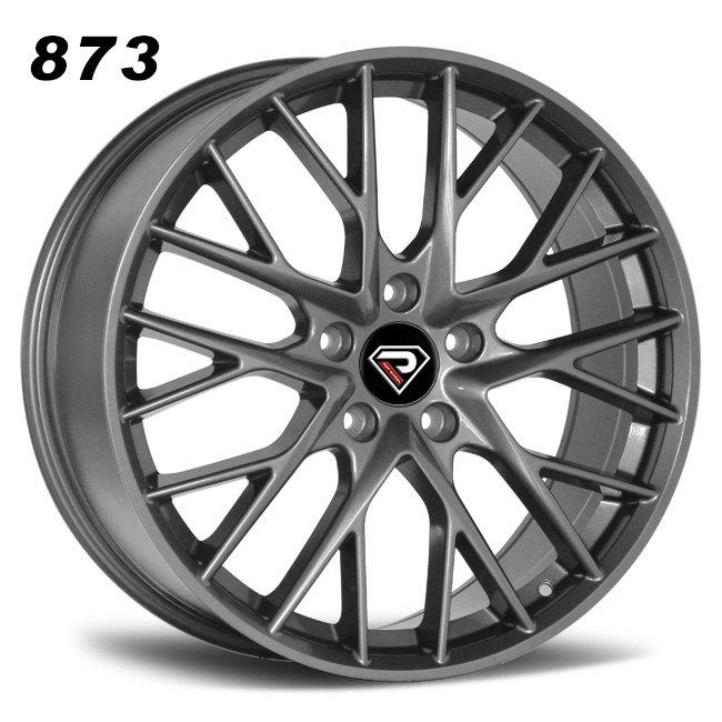873 PORSCHE PANAMERA 2019 Multi-spokes Gunmetal Alloy wheels