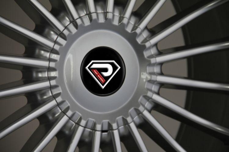 Alpina B7 5-120 Big Center Cap Sliver Lip Alloy wheels