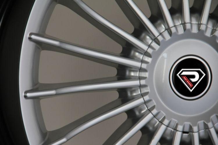 Alpina B7 5-120 Multi-spokes Sliver Lip Alloy wheels