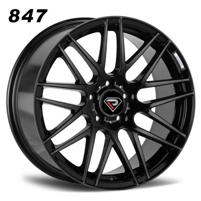 Mercedes Benz Brabus F alloy wheels black