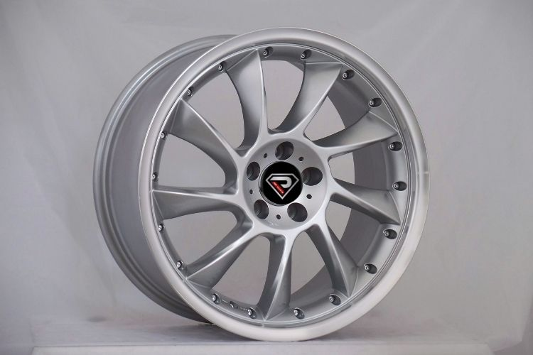 Mercedes Benz Lorinser turbine silver 19inch staggered alloy wheels