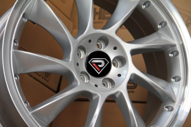 Mercedes Benz Lorinser turbine silver alloy wheels