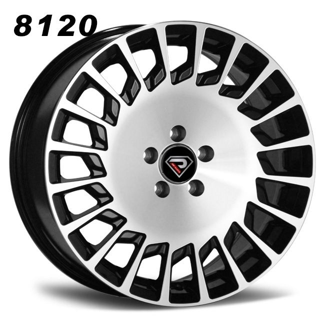 8120 Mercedes Benz Maybach 19inch staggered BMF alloy wheels