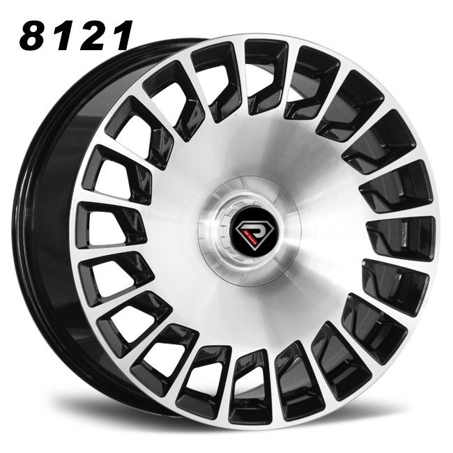 8121 Mercedes Benz Maybach BMF 20inch staggered alloy wheels