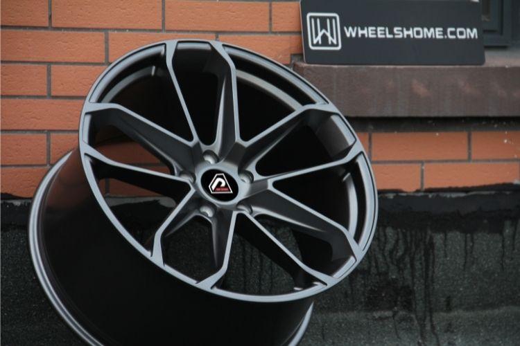 PORSCHE CAYENNE COUPE 2019 21inch 5 spokes Matte Gunmetal Alloy wheels