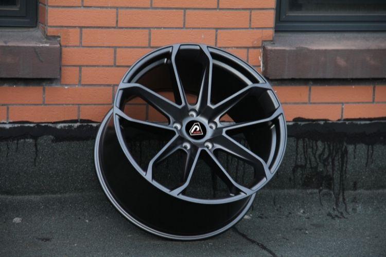 PORSCHE CAYENNE COUPE 2019 21inch deep cpncave 5 holes Matte Gunmetal Alloy wheels
