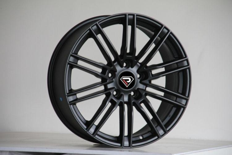 PORSCHE CAYENNE TURBO 10 Double Spokes Matte Black Alloy wheels