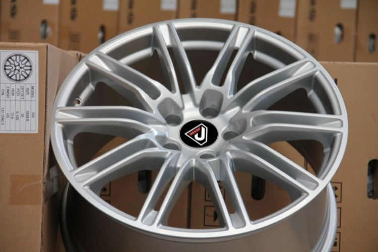 PORSCHE CAYENNE TURBO 10 Double Spokes Sliver Alloy wheels