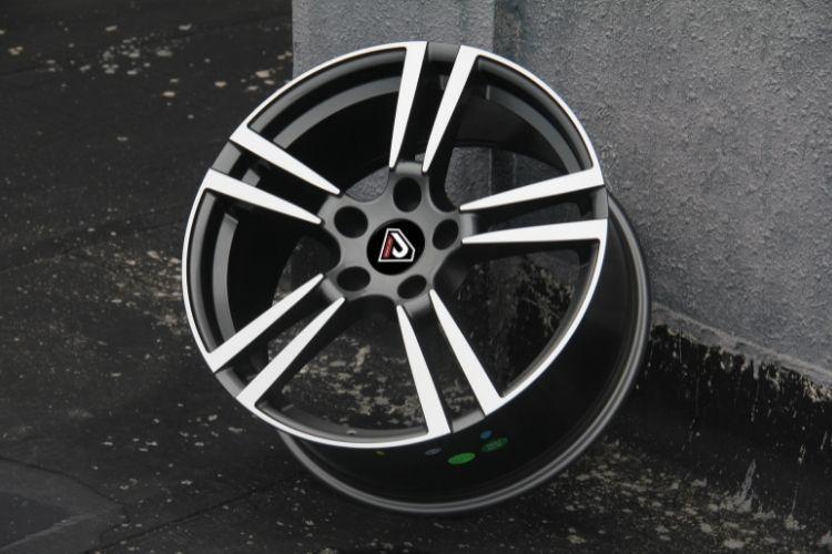 PORSCHE PANAMERA 5 Double spokes BMF Alloy wheels (2)