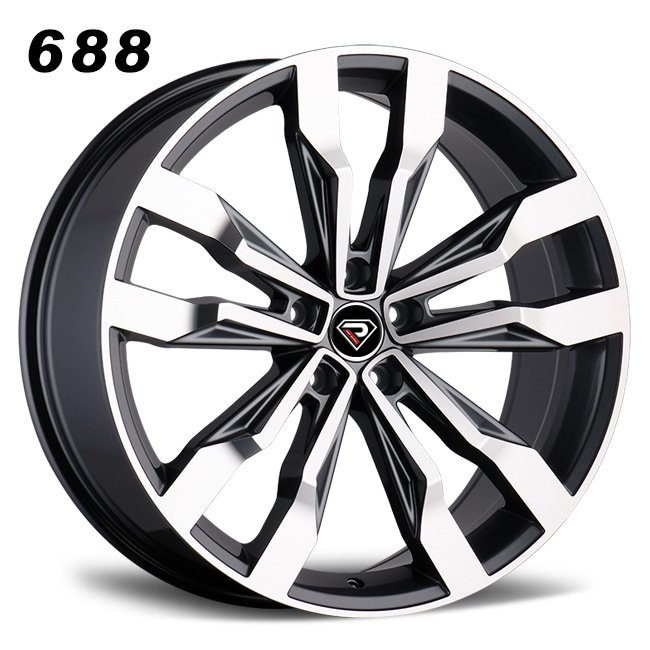 REP 688 GUNMETAIL MACHINED FACE WHEELS