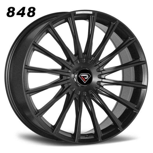 REP 848 MERCEDES BENZ S65 AMG black REPLICA WHEEL