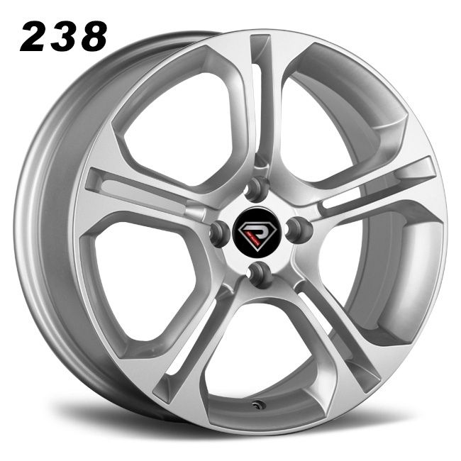 rep 238 renault 16inch silver 4 holes alloy wheels