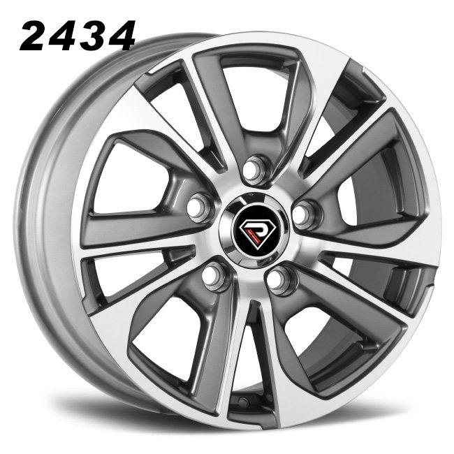 2434 18inch 19inch Gunmetal Machined Face Alloy Wheels