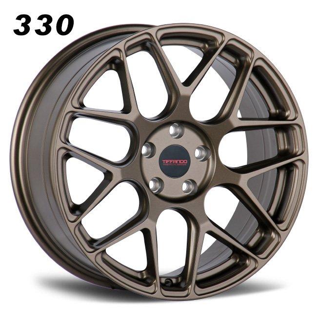 330 TIFFANDO LUXURY 18inch 5-112 Bronze Alloy Wheels