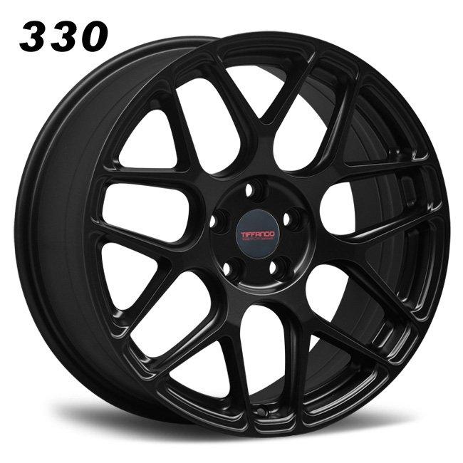 330 TIFFANDO LUXURY 18inch 5-112 Matte Black Alloy Wheels