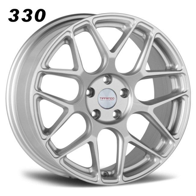 330 TIFFANDO LUXURY 18inch 5-112 Sliver Alloy Wheels