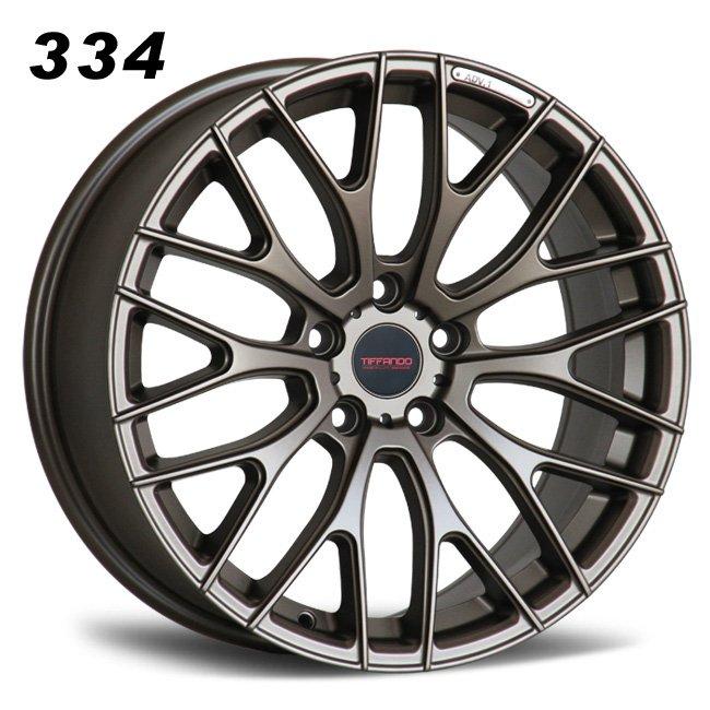 334 TIFFANDO LUXURY Y Spokes Bronze Alloy Wheels