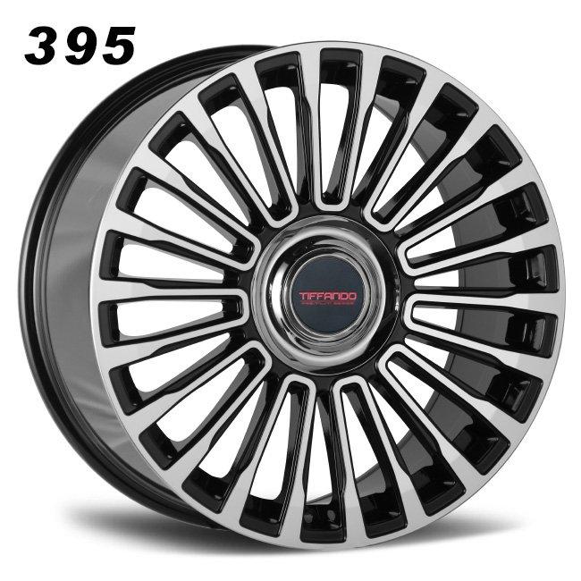 395 TIFFANDO LUXURY big center cap BMF Alloy wheels