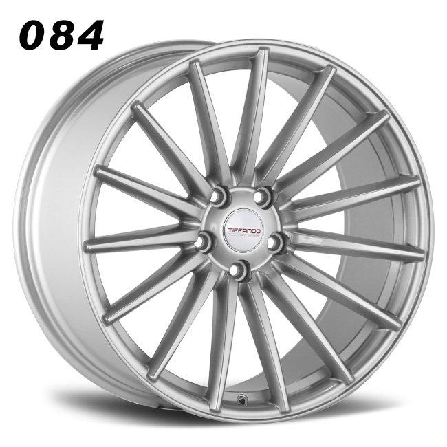 Aftermarkt 084 sliver R19 VIA JWL MULTI spoke alloy wheels