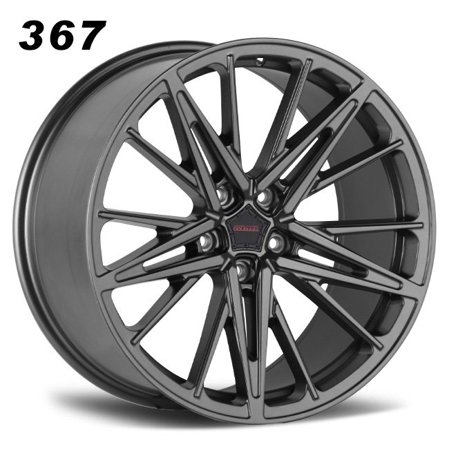 Aftermarkt 367 gunmetal R19 VIA JWL star design 5holes alloy wheels