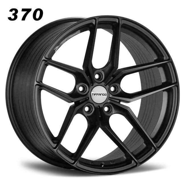 Aftermarkt 370 Z performance matt black R19 VIA JWL doule five spoken 5hole alloy wheels