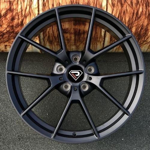 BMW-M3-SC-19inch-classic-5-spokes-Matte-Black-Alloy-wheels