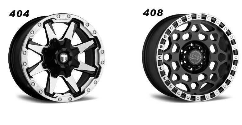 4 x 4 Alloy Wheels