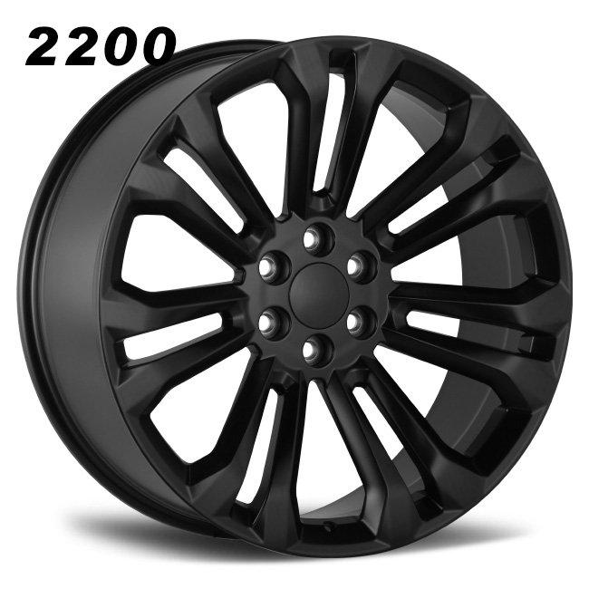 REP 2200 ESCLADE OFFROAD BLACK ALLOY WHEELS