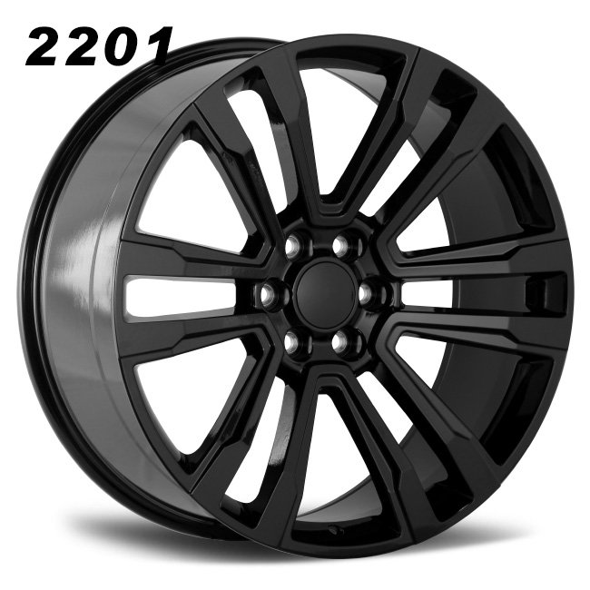 REP 2201 big size black alloy wheels