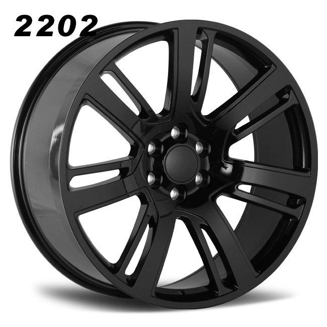 REP 2202 ESCLADE BLACK 26INCH ALLOY WHEELS