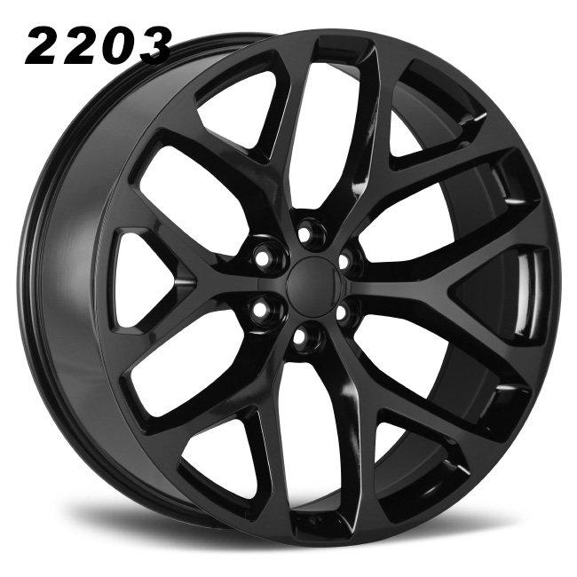 REP 2203 ESCLADE BLACK ALLOY WHEELS