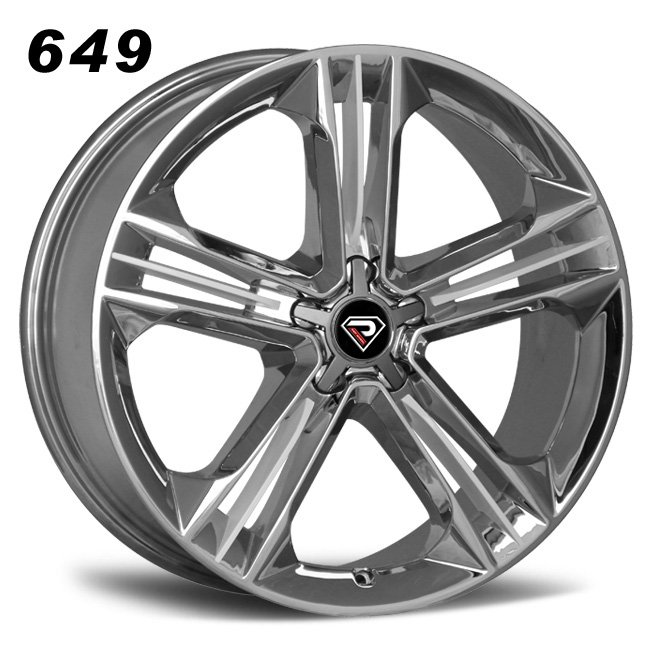 649 New S8 19inch-21inch White Chrome Alloy Wheels