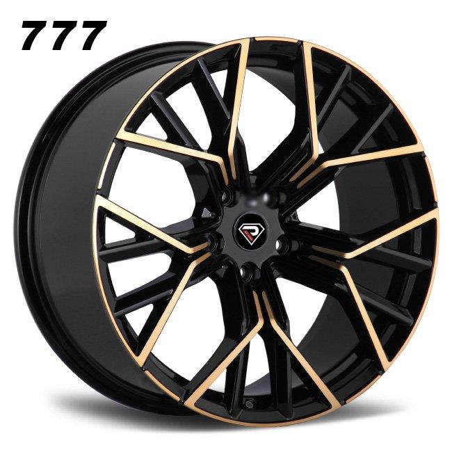 777 BMW New M8 18inch 19inch Y shape spoke Black machined face Bronze Tint alloy wheels