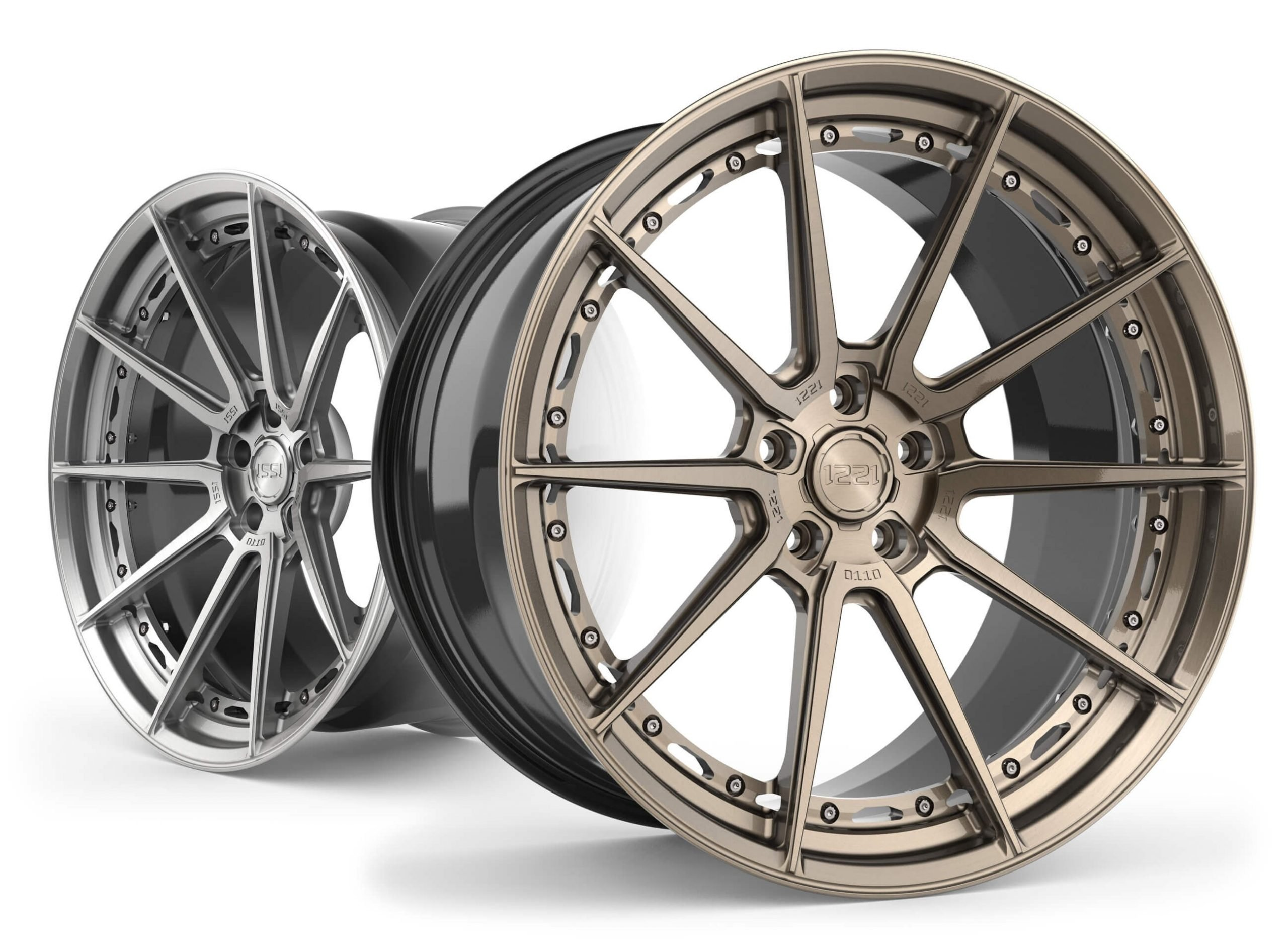 A concave custom forged wheel