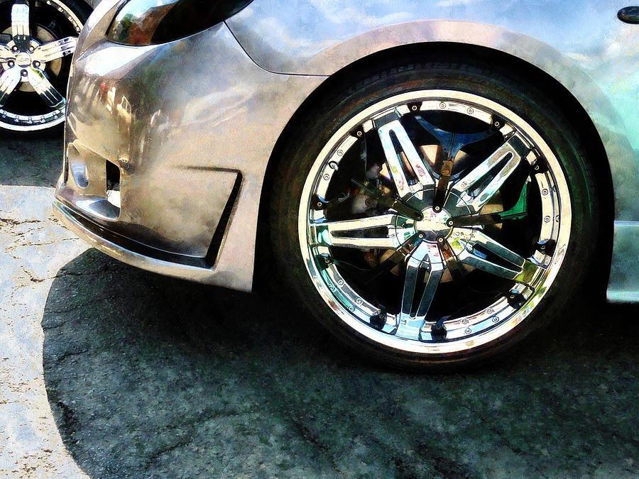 Vehicle on Chrome Alloy Wheels