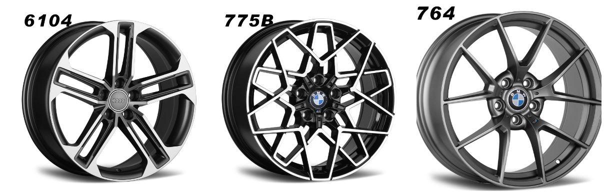 Cast alloy wheels