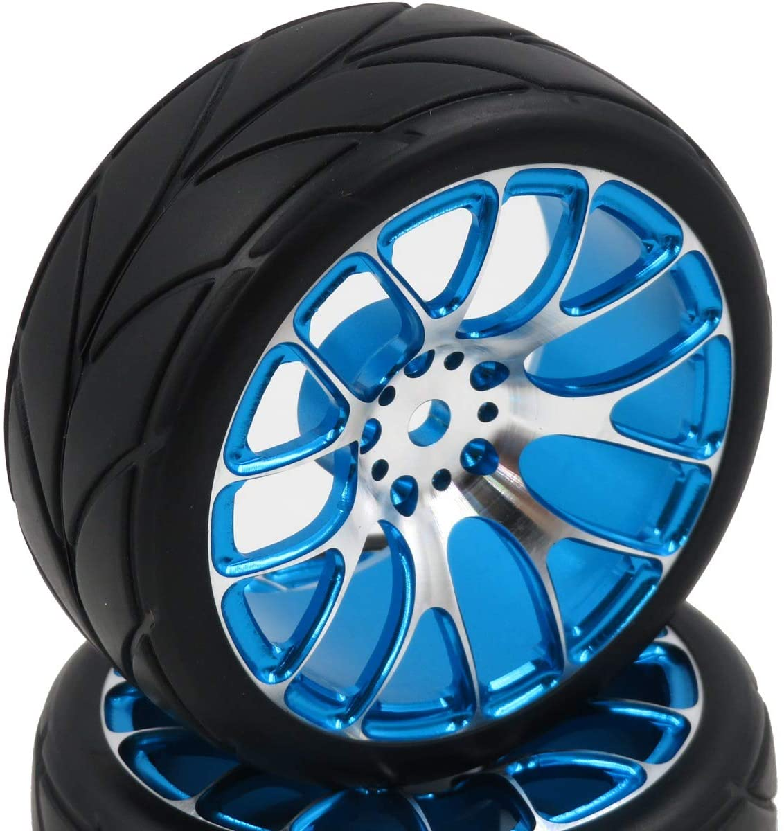 Aluminum alloy wheels with tyres
